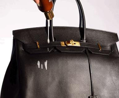 Cleaning Luxury Handbag Step 1
