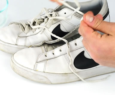 Cleaning Your Sneakers Step 1